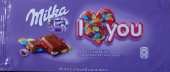 I love you - Milka & coloured cocoa drops
