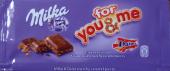 for you & me - Milka & Daim crunchy caramel pieces