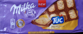 Alpine milk chocolate & TUC Cracker