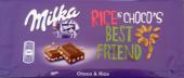 RICE IS CHOCO'S BEST FRIEND