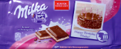 Happy Birthday, Milka! Knister mit Brausegranulat