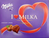 I love Milka Pralinés - Hazelnut Cream