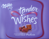 tender wishes SOUR CHERRY & COCOA CREAM Pralinés