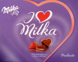 I love Milka Pralinés STRAWBERRY & MILK CREAM