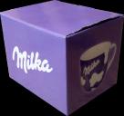 krabička od Milka hrníčku