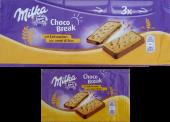 Choco Break mit Leinsamen